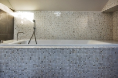 Mosaique marbre Calacatta 1.5x1.5